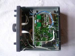 Радиоприемник JRC NRD-345 без нижней крышки