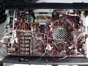 Радиоприемник Kenwood R-1000 без верхней крышки