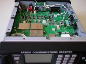 Радиоприемник AOR AR-8600 без верхней крышки