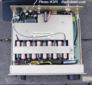 Радиоприемник Palstar R30, батарейный отсек