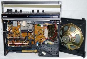 Радиоприемник Philips D-2999 без верхней крышки