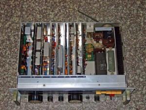 Радиоприемник JRC NRD-72 без крышки