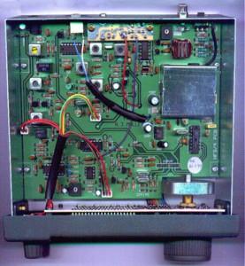 Радиоприемник Target HF-3 без верхней крышки
