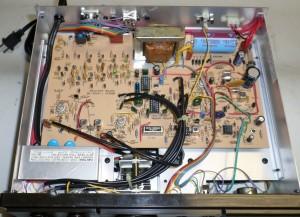 Радиоприемник Heathkit SW-7800 без нижней крышки