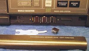 Микросхемы ППЗУ радиоприемника Grundig Satellit 700