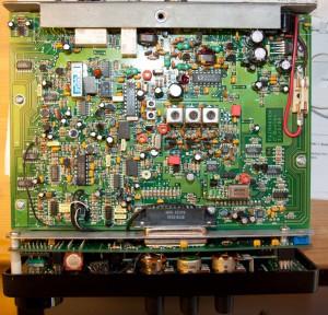 Радиоприемник Fairhaven RD-500 без нижней крышки