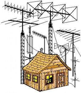 Radio <em>цифровая шкала для приемника</em> shack