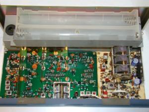 Радиоприемник Drake SSR-1 без верхней крышки