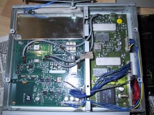 Радиоприемник AOR AR7000 без крышки