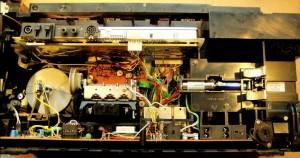 Радиоприемник Grundig Satellit 650  без задней крышки