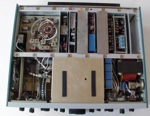 Радиоприемник National HRO-600 без верхней крышки