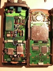 Радиоприемник AOR AR8000 с раскрытым корпусом