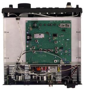 Радиоприемник Ten-Tec RX-350 без верхней крышки