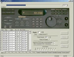 BC895XLT Uniden Bearcat Remote Control Software