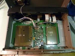 Радиоприемник-сканер Uniden Bearcat BC895XLT без верхней крышки
