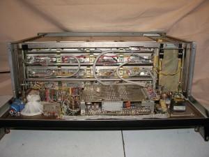 Радиоприемник RFT EKD 300 с откинутой передней панелью