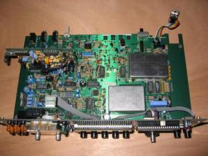 Монтажная плата радиоприемника Lowe HF-250