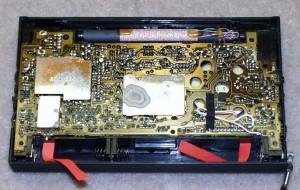 Радиоприемник Panasonic RF-B65 без задней крышки