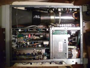 Осциллограф Leader LBO-325 без верхней крышки