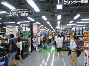 Компьютерный этаж магазина Yodobashi-Akiba