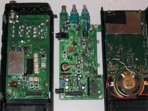 Yupiteru MVT-7100 в разобранном виде