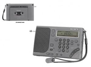 Магнитола Sony ICF-SW1000T