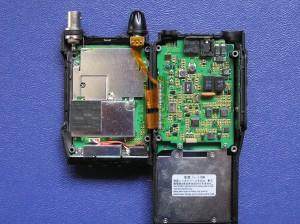 Радиоприемник Alinco DJ-X2000 с вскрытым корпусом